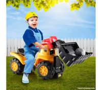 Kids Ride-On Toy Bulldozer
