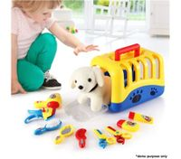 Dog Toy Basket Play Set & Accessories