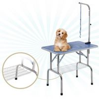 Grooming Table with Adjustable Arm for Cats, Dogs and Pets - 90cm in Length