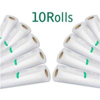 10 Rolls of 22cm x 1000cm Replacement Vacuum Sealer Bags