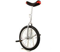 "Pro Circus Unicycle Bike 18"" inch/46cm - White"