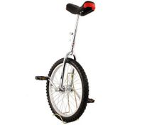 "Pro Circus Unicycle Bike 20"" inch/51cm - Silver"