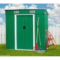 4' x 8' FT Steel Storage Shed