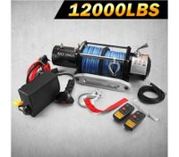 Battery Powered Wireless Remote Controlled ATV/Boat Winch-5400KGS