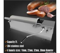 7 Litre Stainless Steel Horizontal Sausage Filler