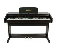 MELODIC 100 Rhythms 88 Standard Touch Response Keys 3 Pedals Digital Piano- Black