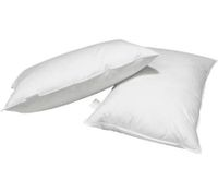 White Pillows x 2 Set - Goose Down Filling
