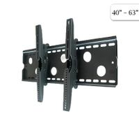 "40"" - 63"" Plasma/LCD TV Wall Bracket/Mount 80Kg Load - Black"