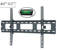 "40"" - 65"" Plasma / LCD TV Mounting Bracket 60kg Load - Black"