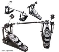 3 in 1 Double/Single Drum Pedal Beat set - Black