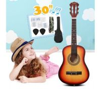 "30"" Kids Steel String Acoustic Guitar Pack (Sunburst)"