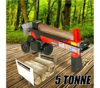 5 Tonne 1500W Outdoor Garden Log Splitter