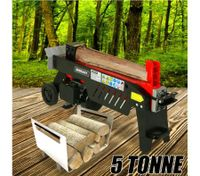 5 Tonne 1500W Outdoor Garden Log Splitter with Panel