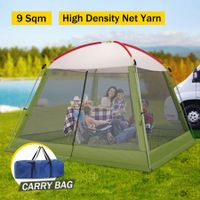 3x3M Blue Outdoor Pop-Up Mesh Walled Tent