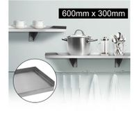 Stainless Steel Wall Mounted Shelf-600mm x 300mm