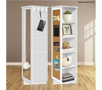 5-Compartment Cubed Swivel Storage Cabinet