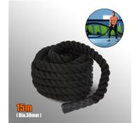 15M x 38mm Battle Rope