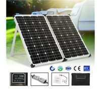 120W Foldable Solar Panel Kit