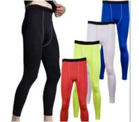 Men Under Skin Long Pants Running Sport Gear