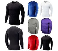 Men Compression Long Sleeve Top Sport Shirt