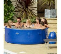 Blue Lay-Z-Spa 6-8 Person Inflatable Hot Tub