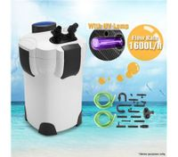 External Filter / Pump for Aquarium with UV Light