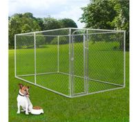Dog Kennel Run & Pet Enclosure Run Animal Fencing Fence  Playpen 4m x 2.3m x 1.83m