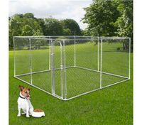 4m x 4m Pet Dog Kennel Run/Pet Enclosure Playpen