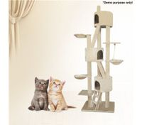 9 Level Cat Tree and Scratching Post-260cm