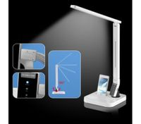 LED Desk Lamp with USB Charger