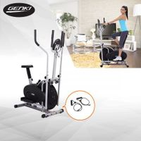 Genki 4-in-1 Elliptical Cross Trainer & Exercise Bike