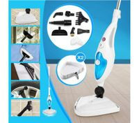 10-in-1 Steam Cleaning Mop-1300W-Blue&White