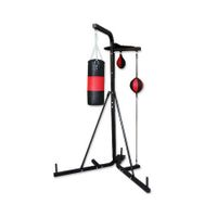 Multi Station Boxing Stand with Punching Bag/Speed ball/Floor to Ceiling Ball