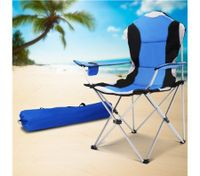 Quilted Deluxe Camping Arm Chair
