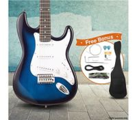 "39"" Electric Guitar Pack (Blue)"