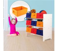 9 Drawer Kids Toy Organiser / Storage Unit