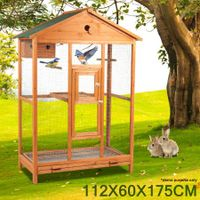 Large Wooden Bird Cage
