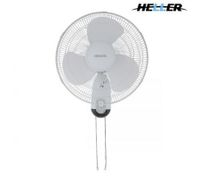 Heller 3 Blade Wall Fan With Pull Cord Operation