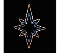 Flashing Star Christmas Outdoor Light Display