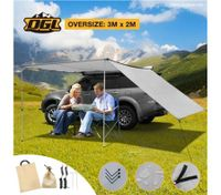 420D Oxford Pull Out Car Awning-3M x2M