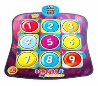Children's Electronic Multi-Coloured Dancing Challenge Dance Playmat with Music