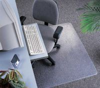 Vinyl Floor Mat for Carpet Floors - 1200 x 900 mm