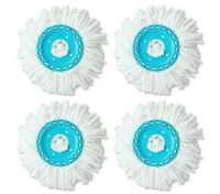 Microfibre Spin Mop Head - Value Set of 4