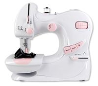 Multi-Function Portable Mini Sewing Machine with Built-in Light  and 64 pc Bobbins