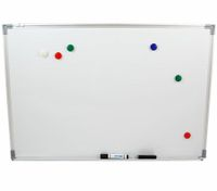 Professional Magnetic Whiteboard with Bonus Marker Eraser and Magnetic Buttons