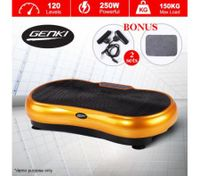 Genki Ultra Slim Vibration Fitness Machine Body Shaper Platform 2nd Gen - Gold