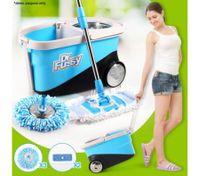 360 Degree Spin Mop & Bucket with Wheels