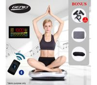 Music Player GENKI Whole Body Vibration Machine-LED Light