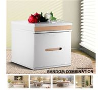 High Gloss Bedside Table Cabinet Night Unite Cupboard Sideboard