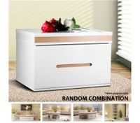 High Gloss Bedside Coffee Table